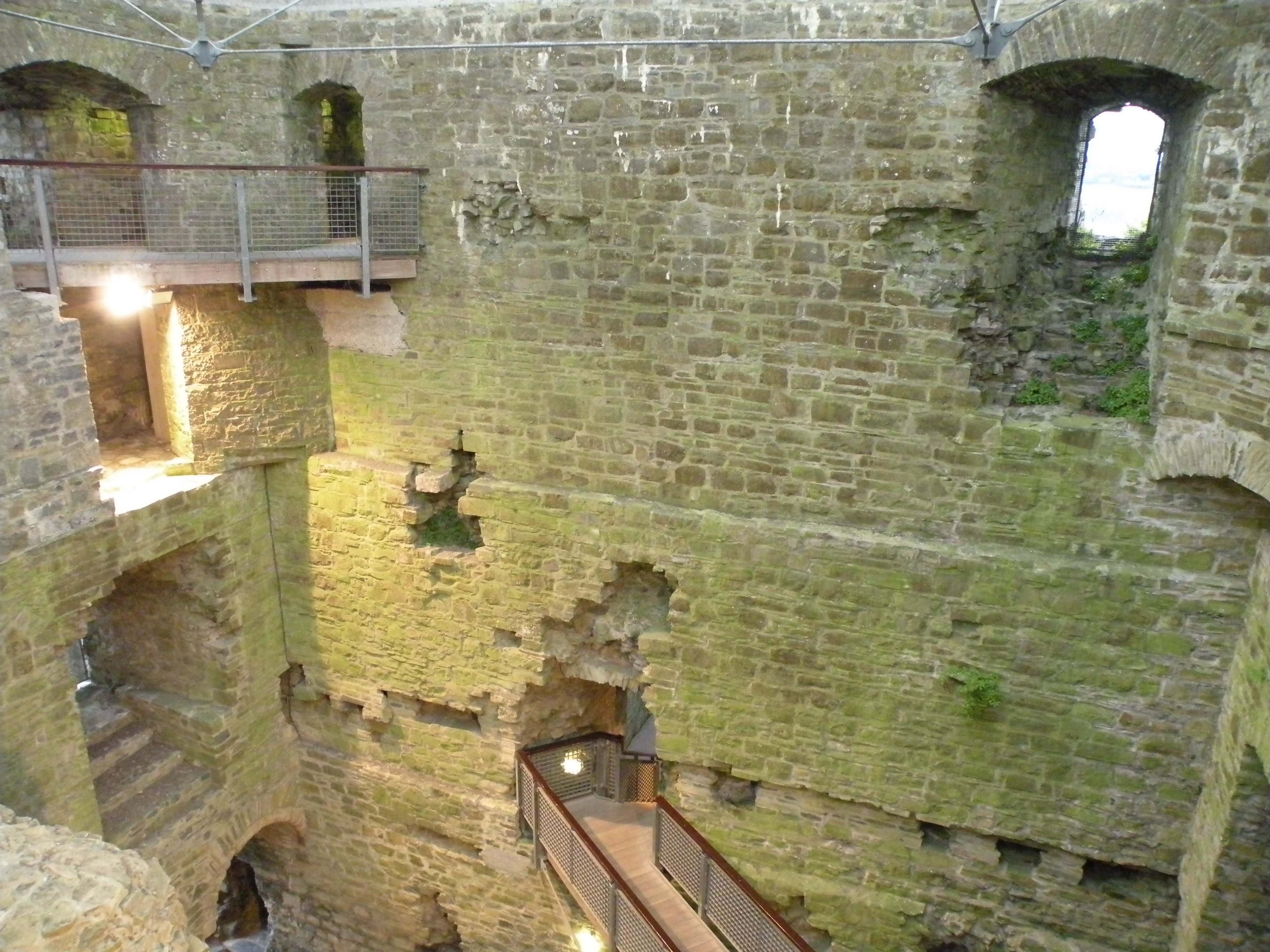 trim castle cistercian abby and hill of tara zen brush