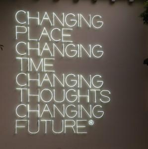 Slogan Peggy Guggenheim